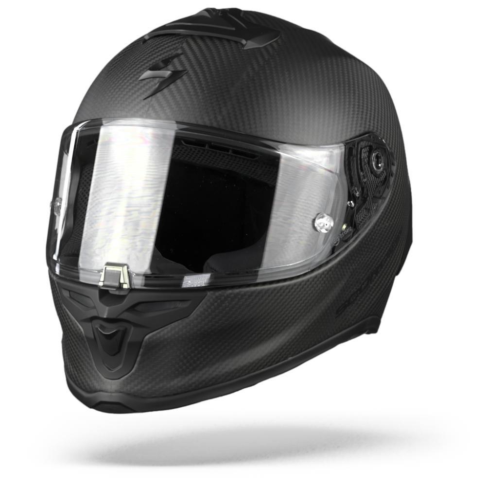 Scorpion EXO-R1 Carbon Air Solid Negro Mate Casco Integral  L