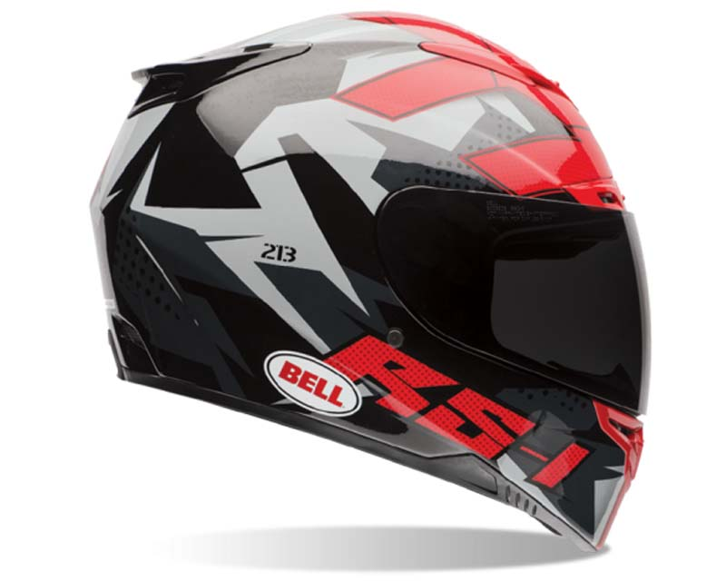 Bell Racing 7061697 RS-1 Topo Snow Camo Helmet 58-59 | LG