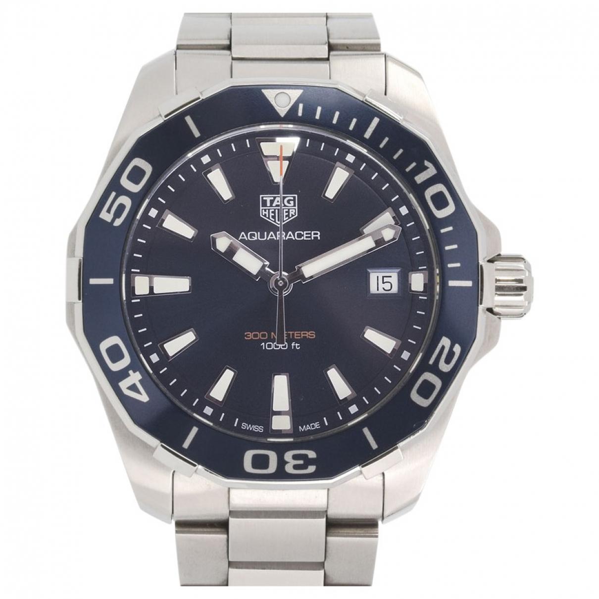 Tag Heuer Aquaracer  Uhr in  Marine Stahl
