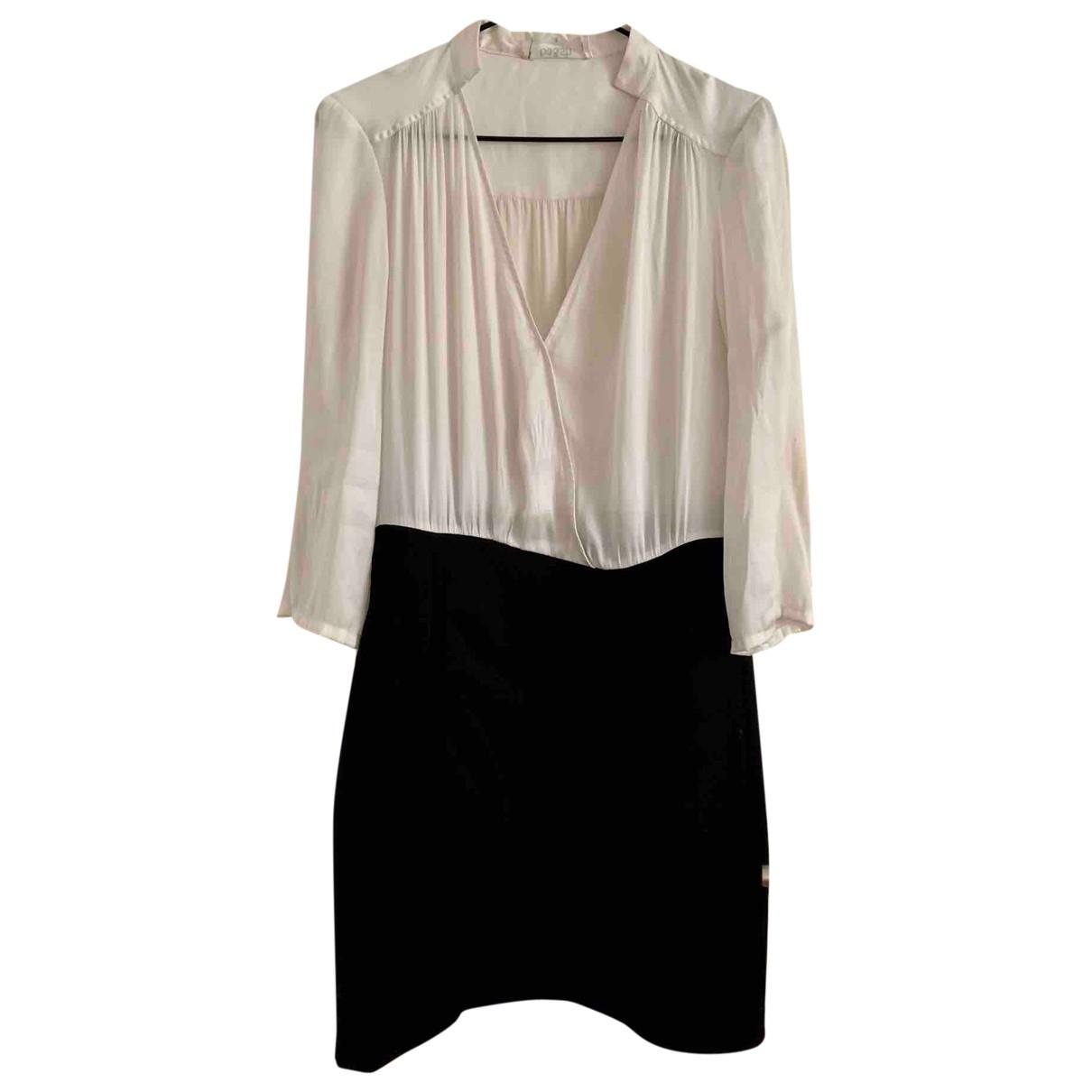 Ba&sh \N White Silk dress for Women 2 US