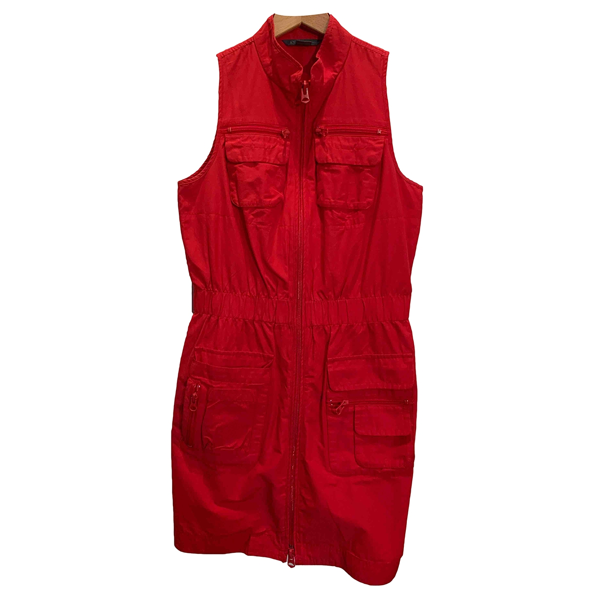 Emporio Armani \N Red dress for Women 4 US