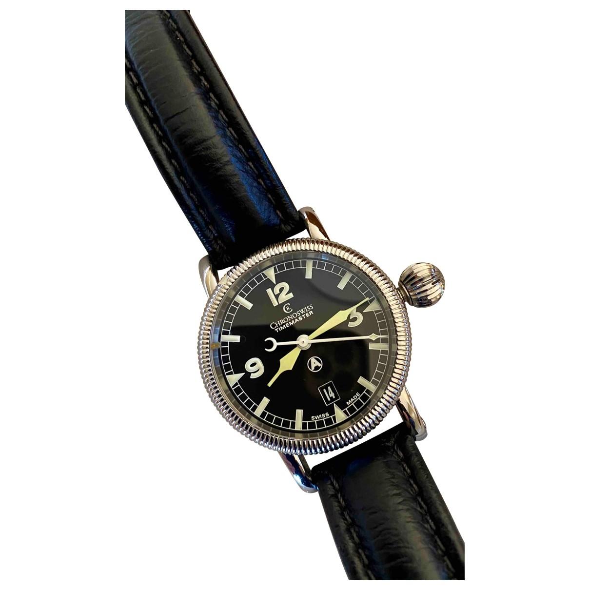 Chronoswiss \N Uhr in  Schwarz Stahl