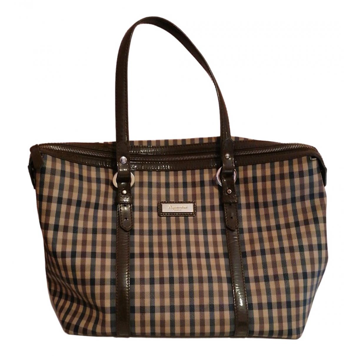 Aquascutum N Leather handbag for Women N
