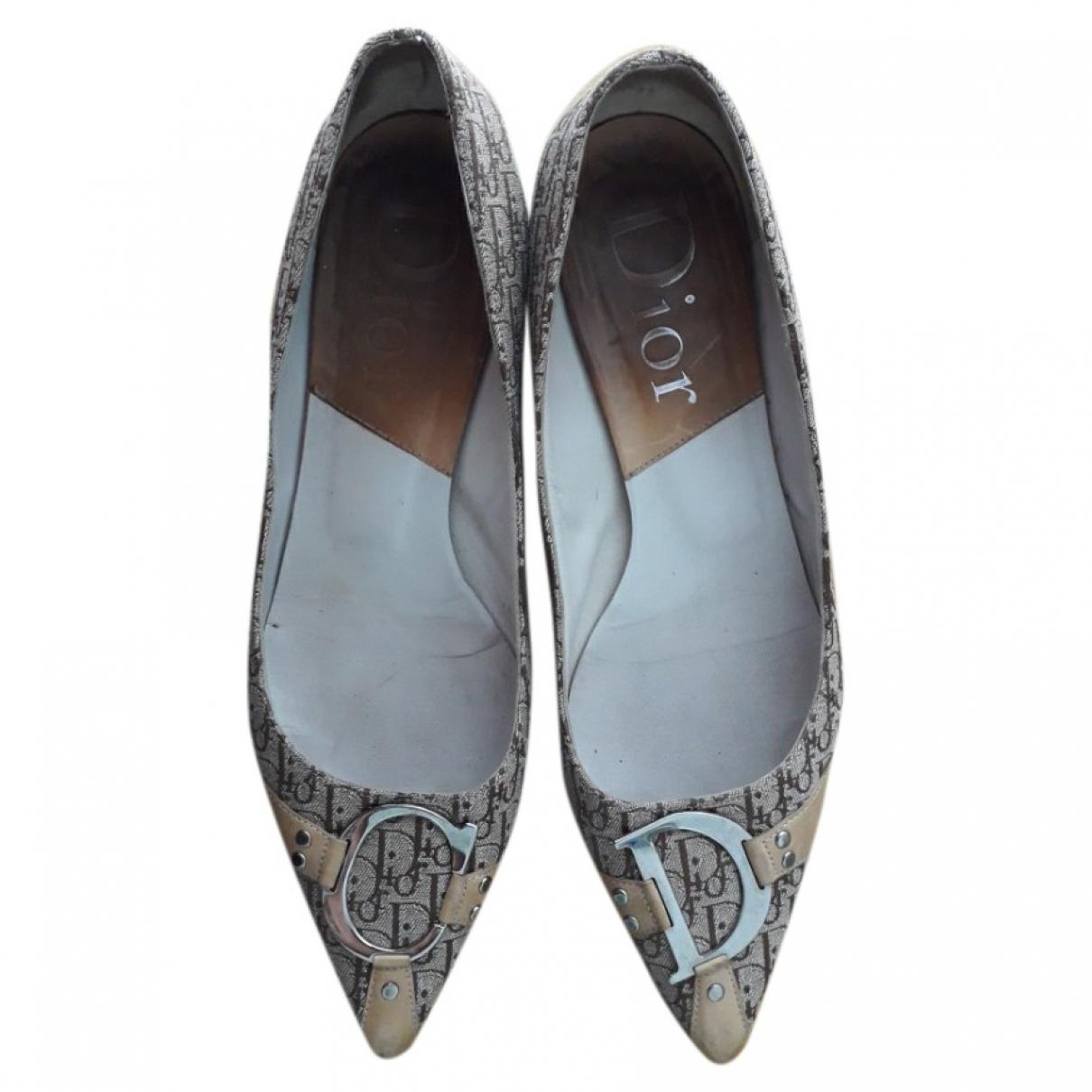 Bailarinas de Lona Dior