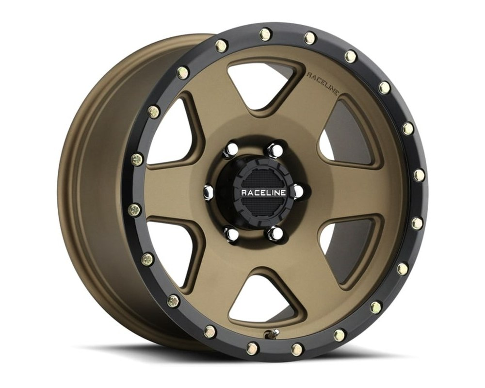 Raceline 946BZ Boost Bronze w/ Black Lip Wheel 20X9 5X150 18mm