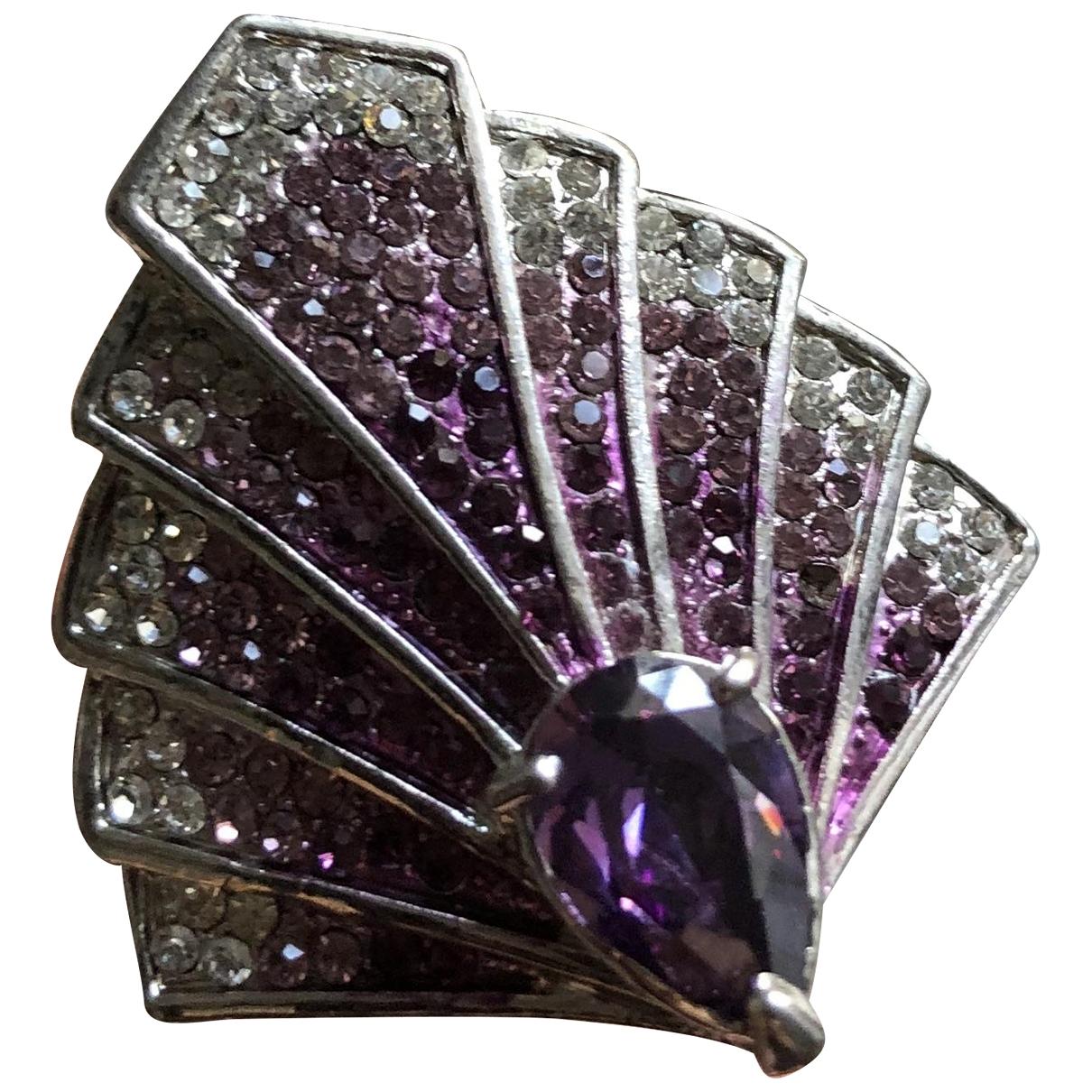 - Bague   pour femme en metal - violet