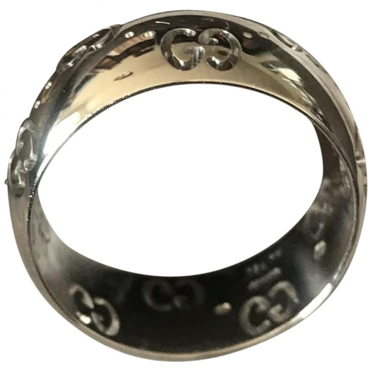 Gucci Icon Silver White gold ring for Women \N