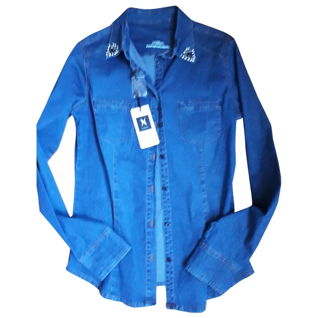 Non Signé / Unsigned \N Blue Denim - Jeans  top for Women 42 IT