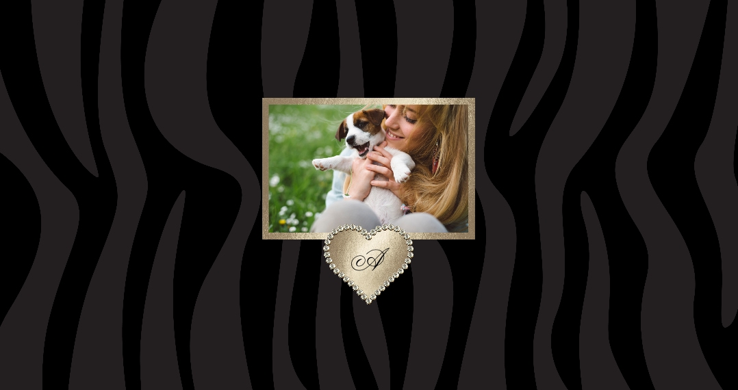 Patterns Custom Pet Bandana, Gift -Prosperous Pet