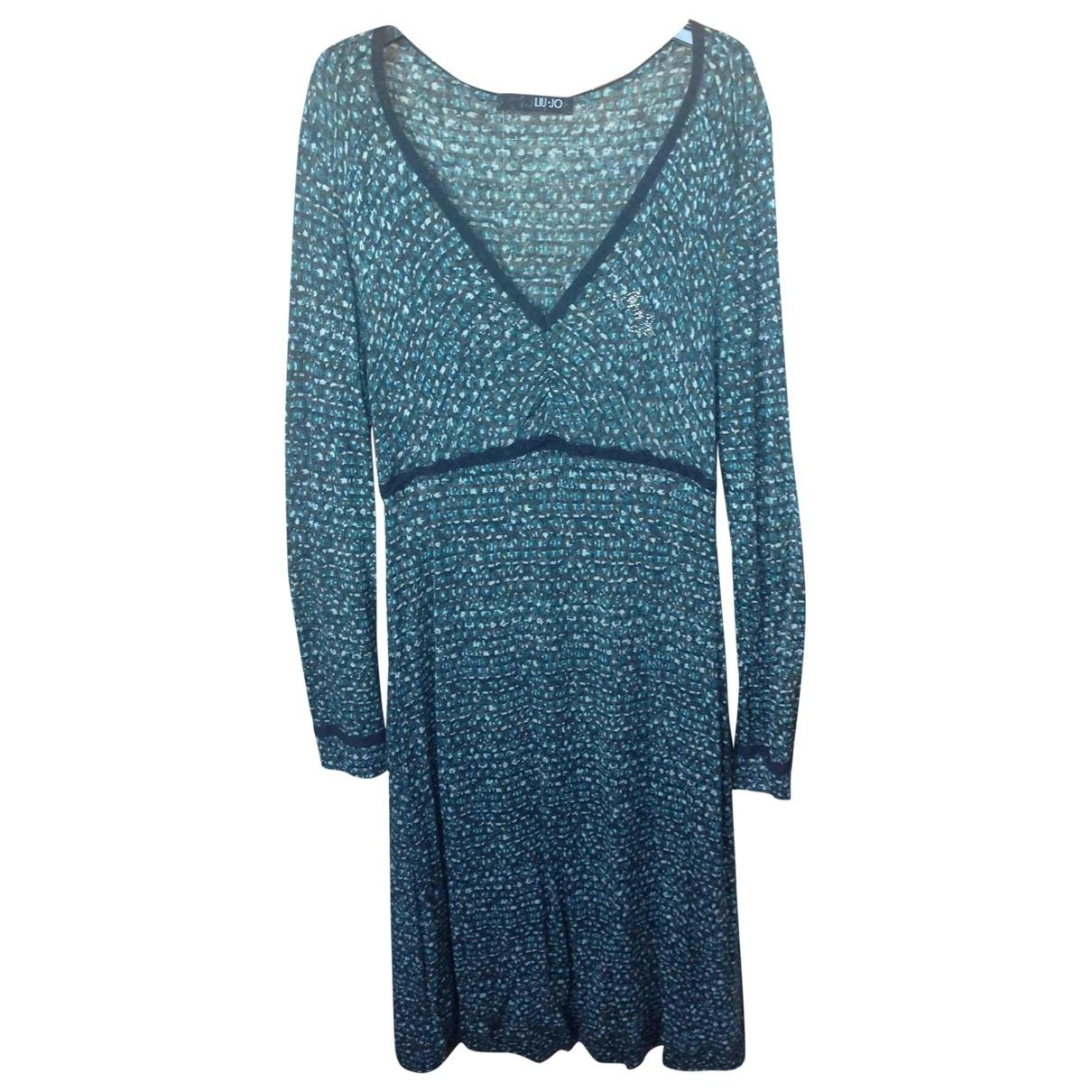 Liu.jo \N Kleid in  Gruen Wolle