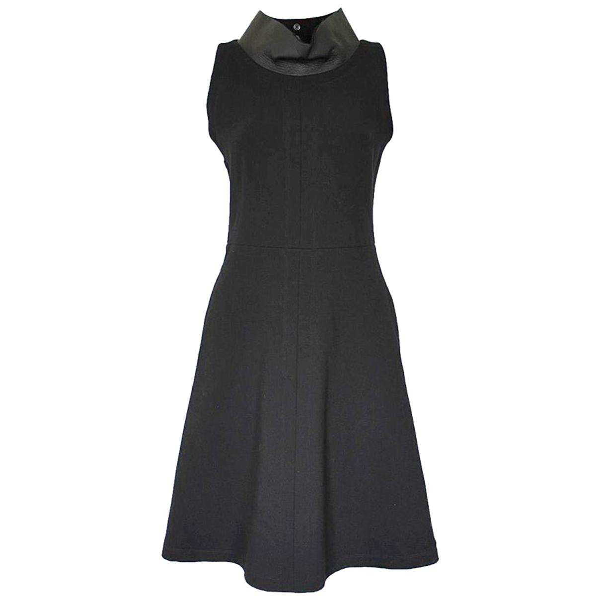 Ter Et Bantine \N Black Wool dress for Women 40 IT