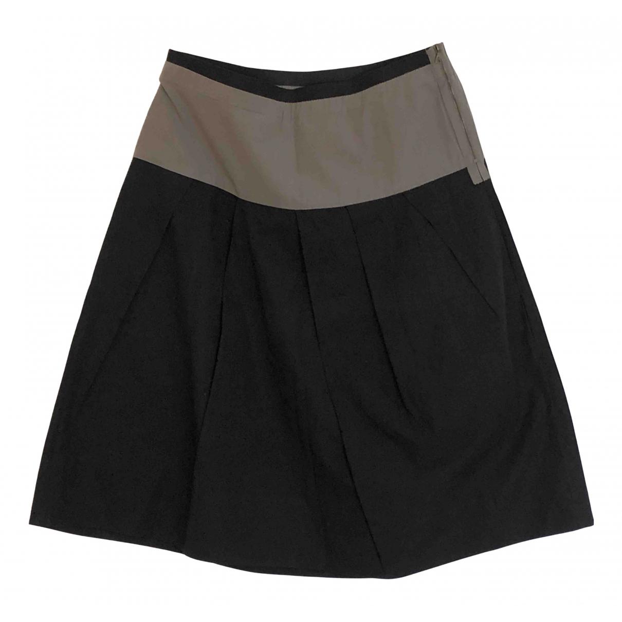 Marni - Jupe   pour femme en coton - elasthane - noir