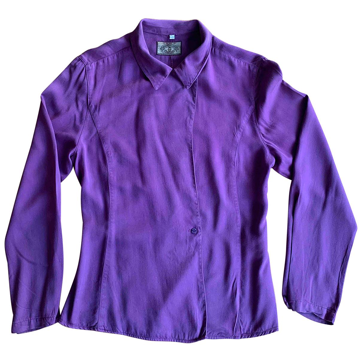 Armani Jeans N Purple  top for Women 44 IT