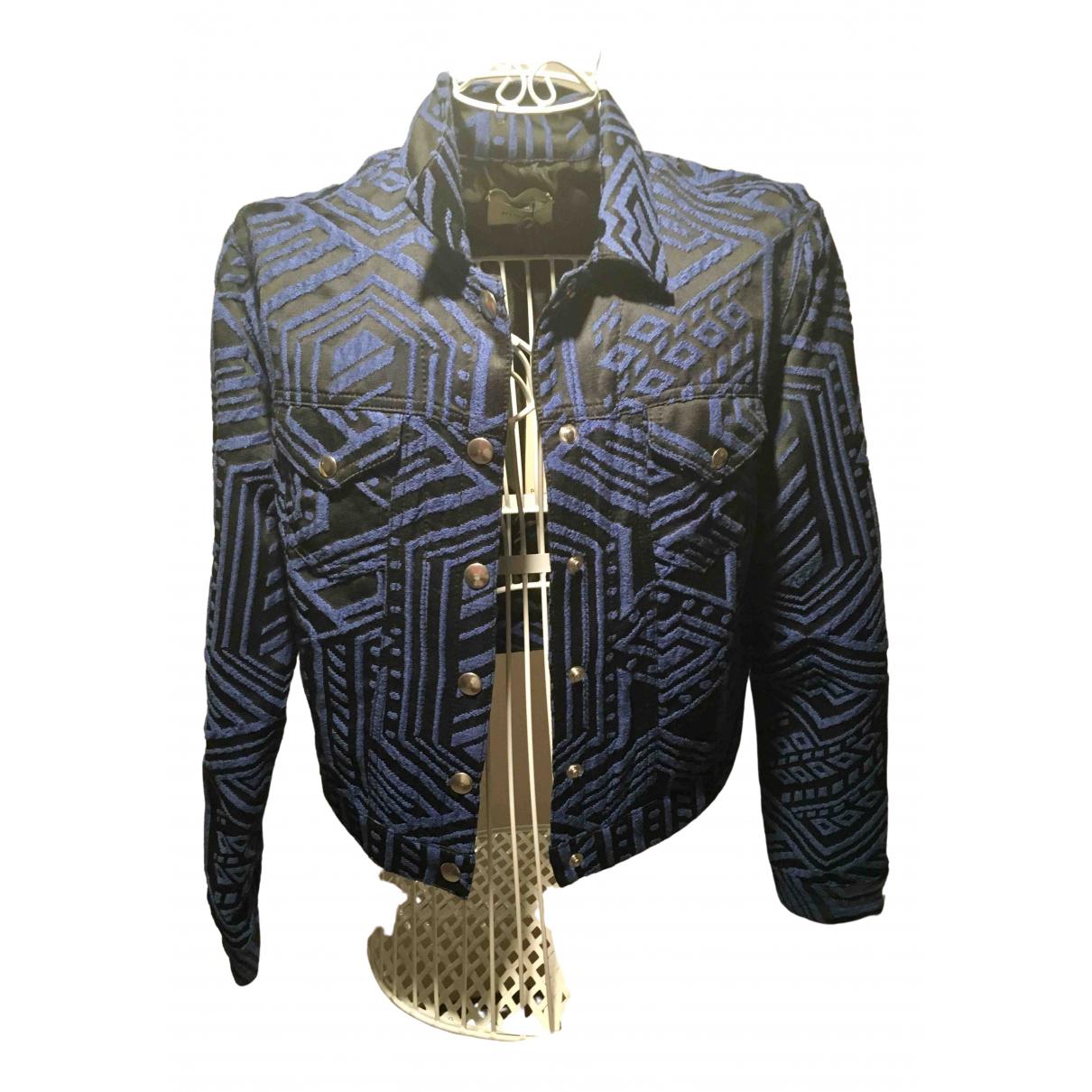 Pinko \N Black Cotton jacket for Women 46 IT