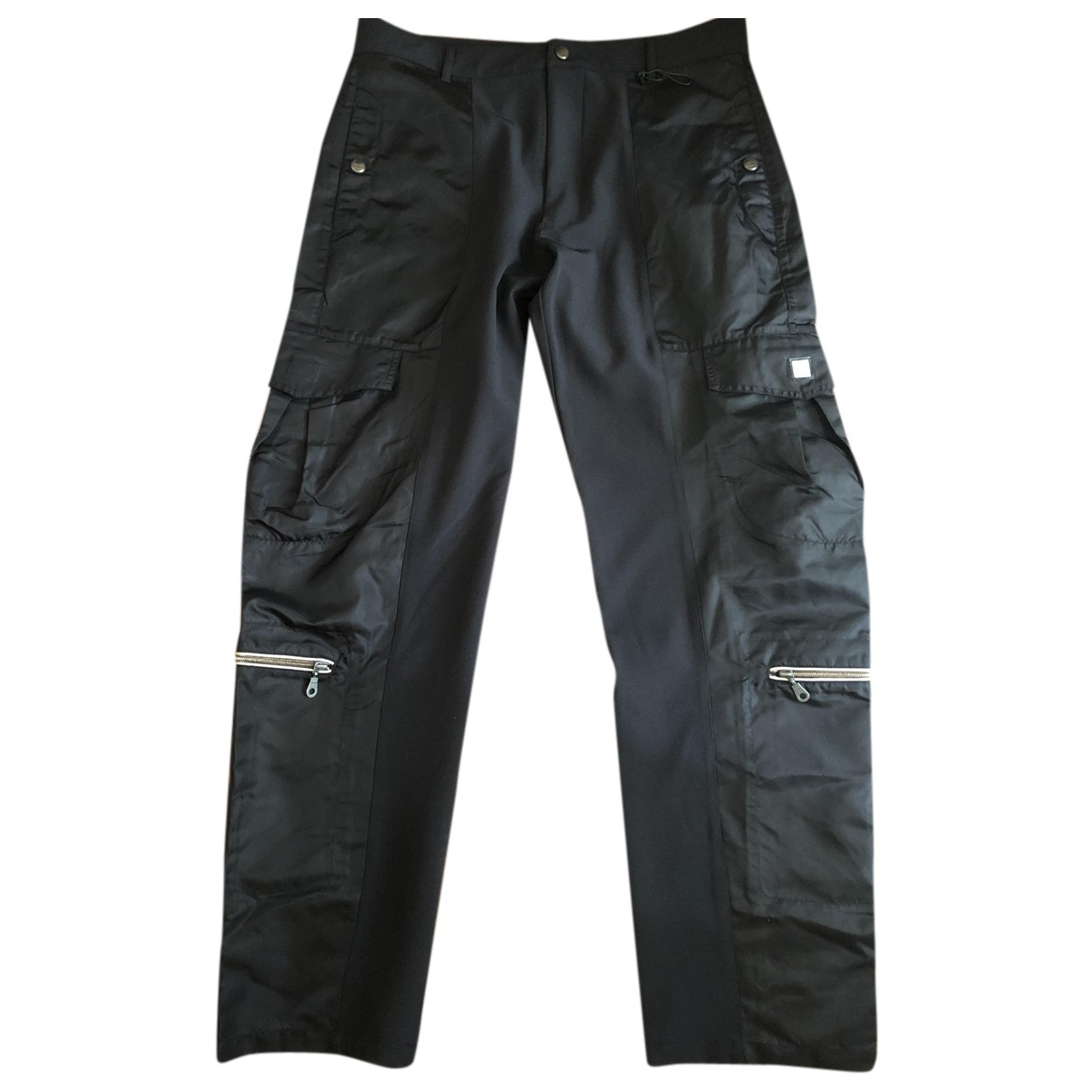 Closed N Black Spandex Trousers for Men 52 IT