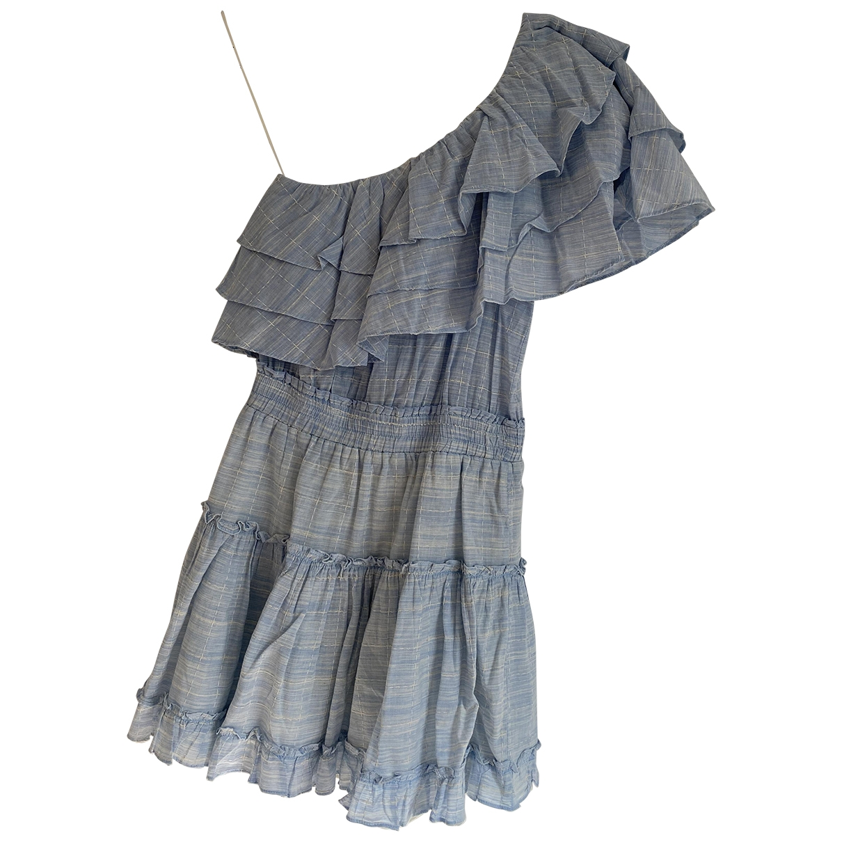 Misa \N Blue Cotton dress for Women S International