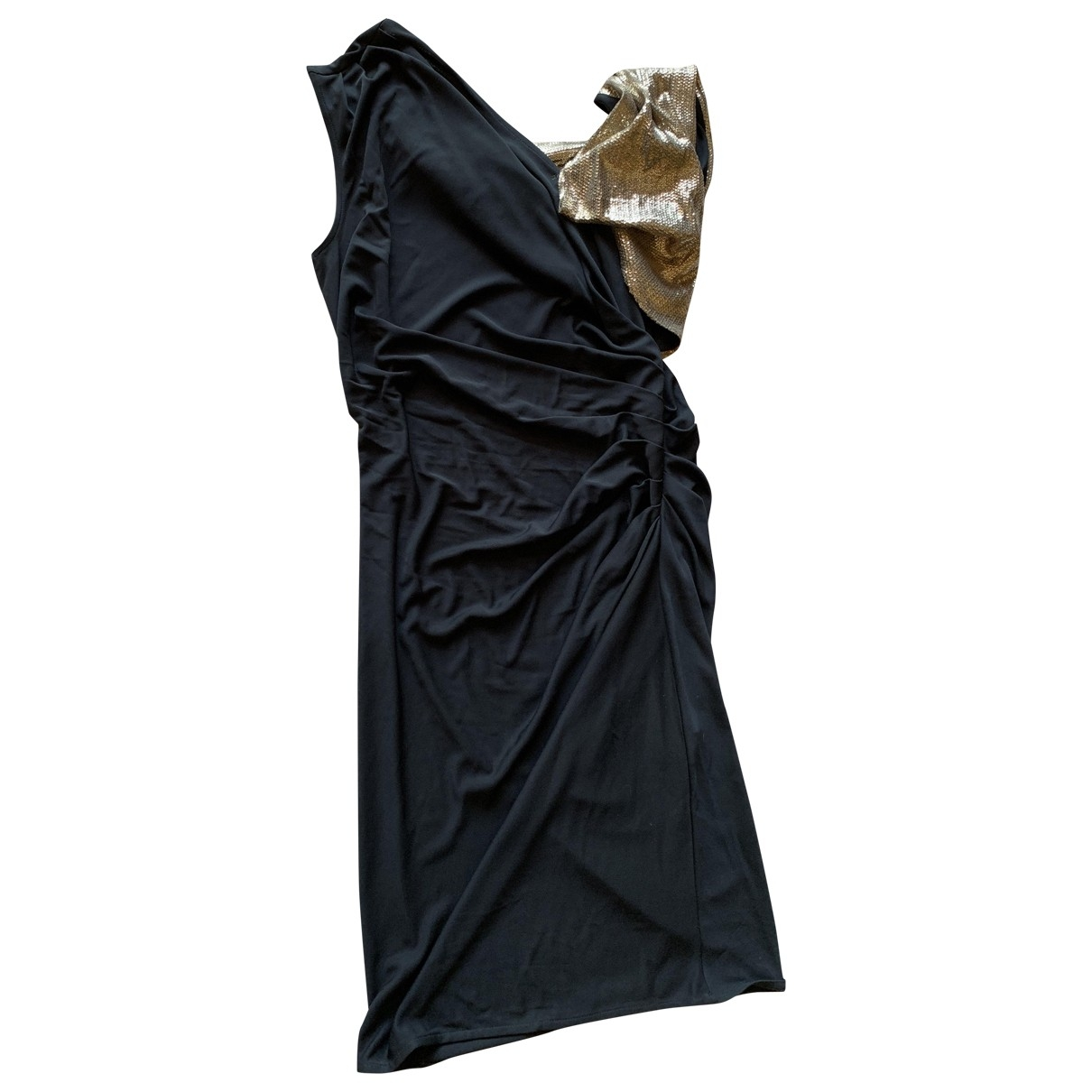 Whistles \N Kleid in  Schwarz Polyester