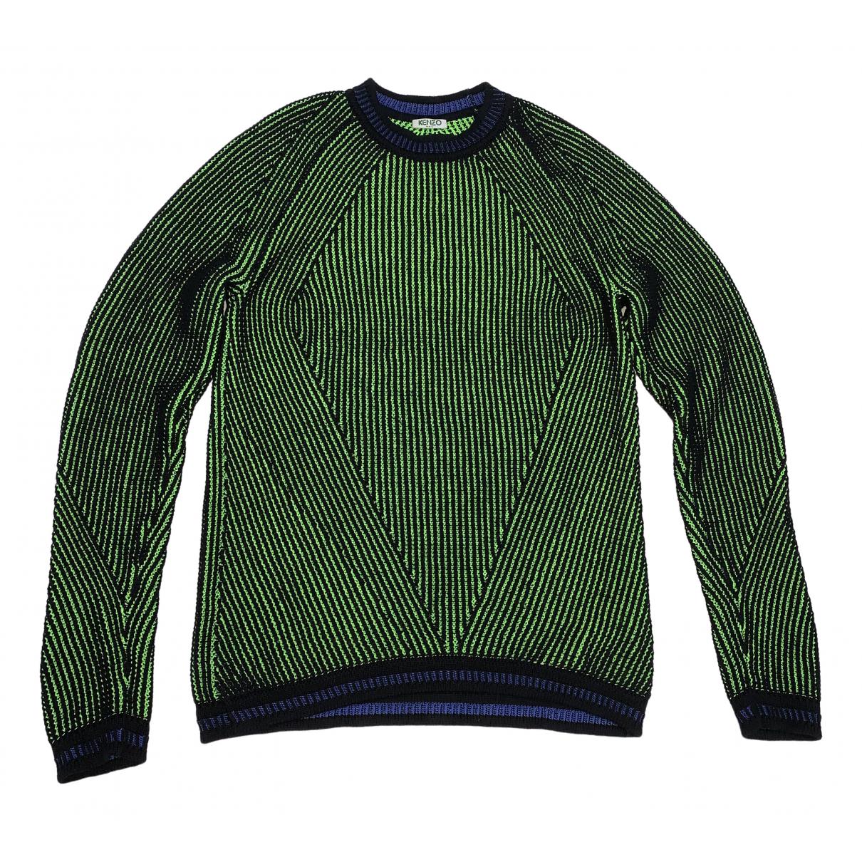 Kenzo - Pulls.Gilets.Sweats   pour homme en coton - vert