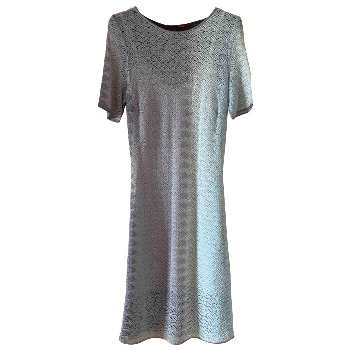 Missoni \N Kleid in  Grau Wolle