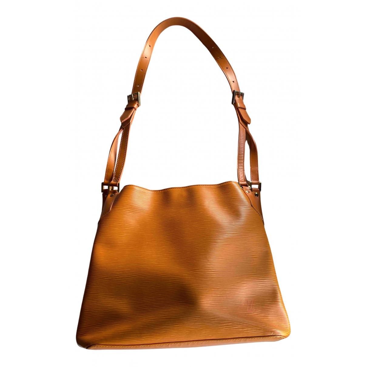 Louis Vuitton N Orange Leather handbag for Women N