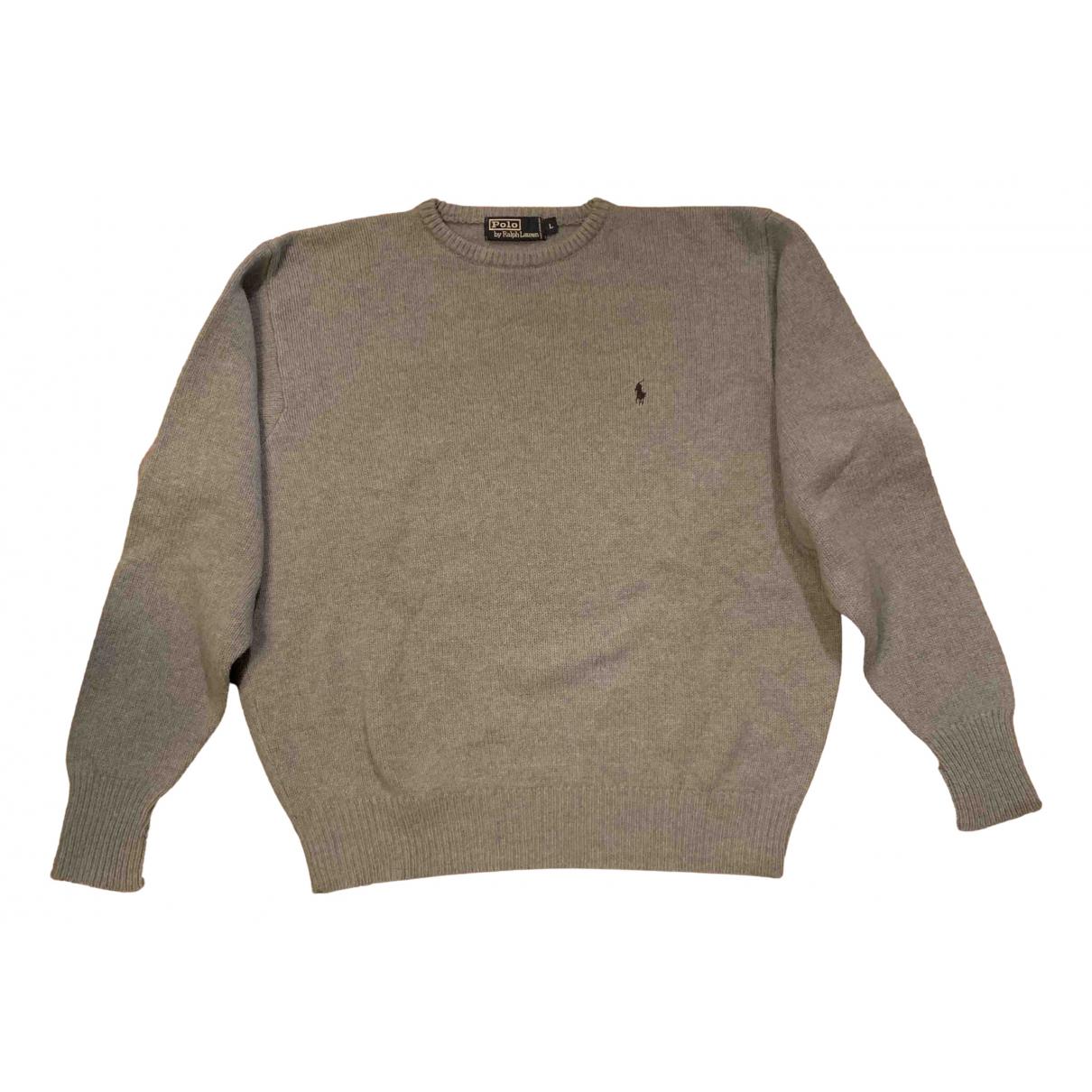 Polo Ralph Lauren \N Pullover.Westen.Sweatshirts  in  Grau Wolle
