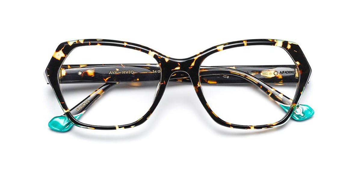 Etnia Barcelona Ava HVTQ Women's Glasses Tortoise Size 54 - Free Lenses - HSA/FSA Insurance - Blue Light Block Available