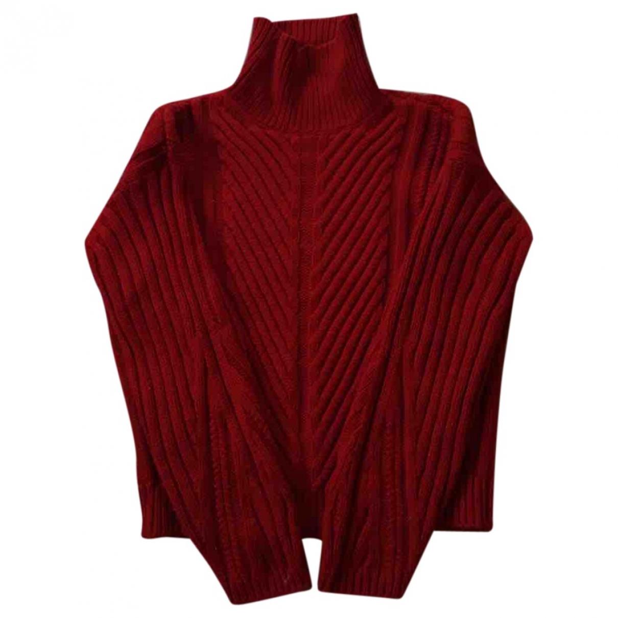 Massimo Dutti - Top   pour femme en coton - rouge
