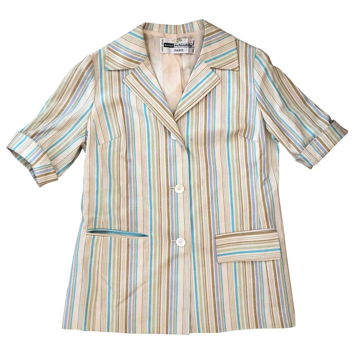 Non Signé / Unsigned \N Multicolour Cotton jacket for Women S International
