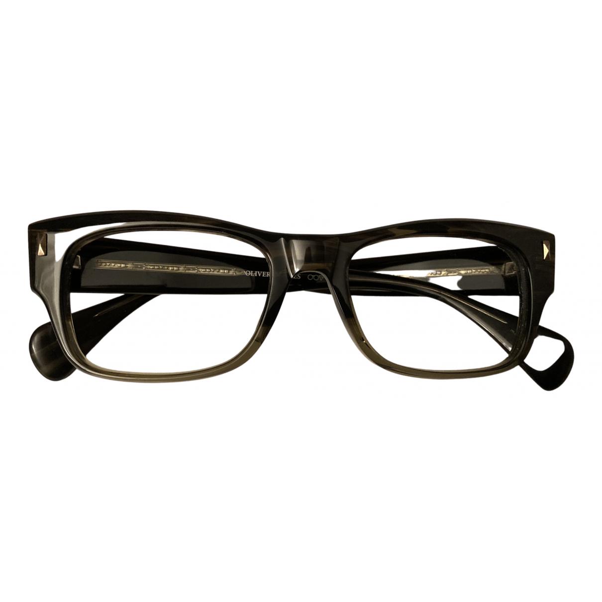Oliver Peoples N Green Sunglasses for Men N