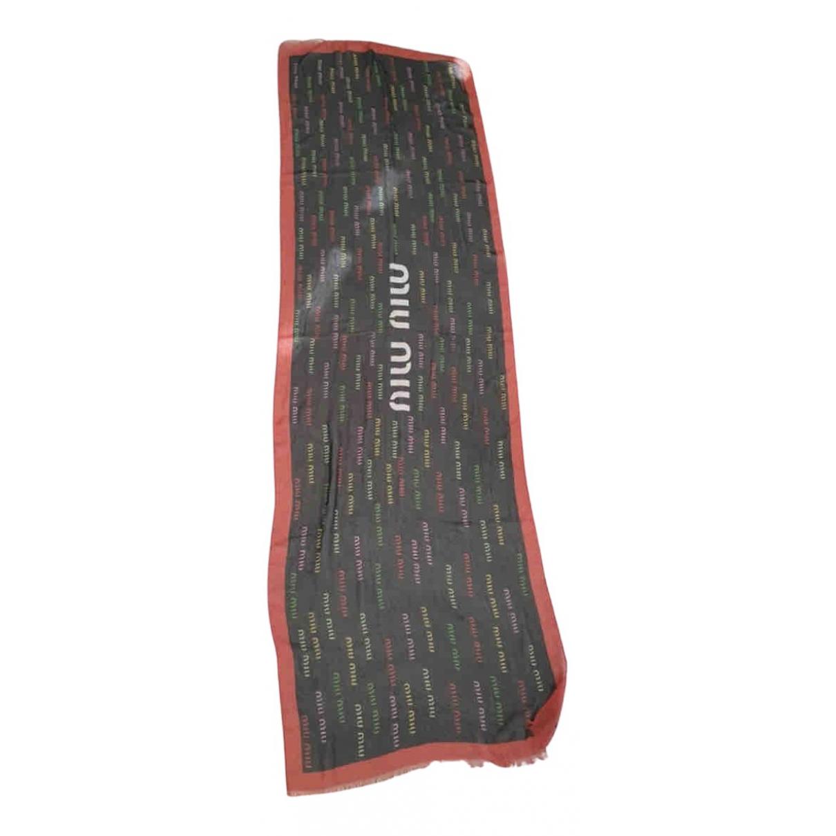 Miu Miu N Black Silk scarf for Women N