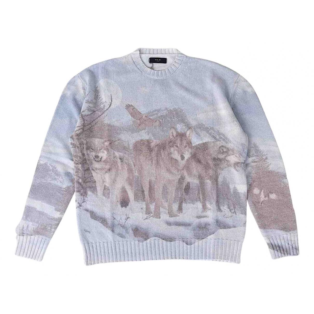 Amiri \N Pullover.Westen.Sweatshirts  in  Bunt Wolle