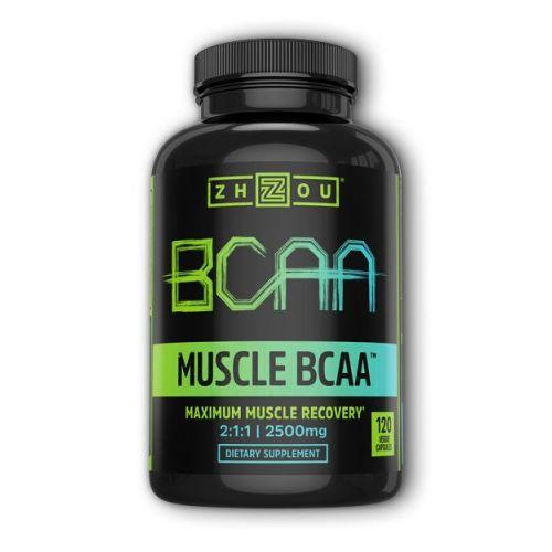 Muscle BCAA 120 Veg Caps by Zhou Nutrition