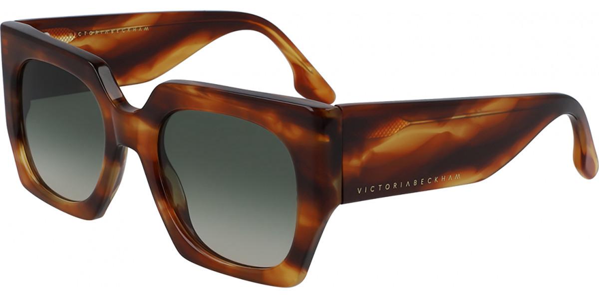 Victoria Beckham VB608S 209 Women's Sunglasses Tortoise Size 52