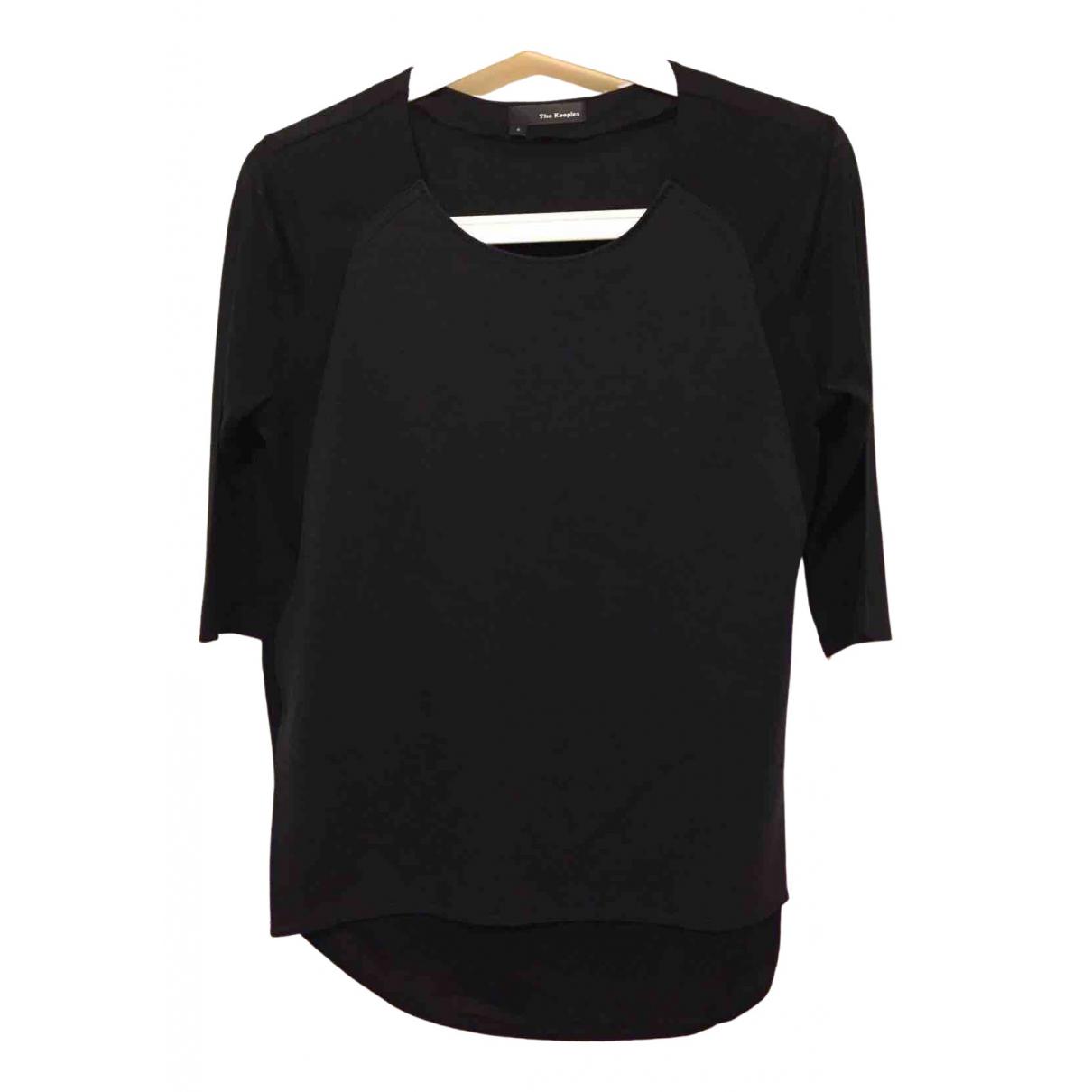 The Kooples \N Black Lace  top for Women S International