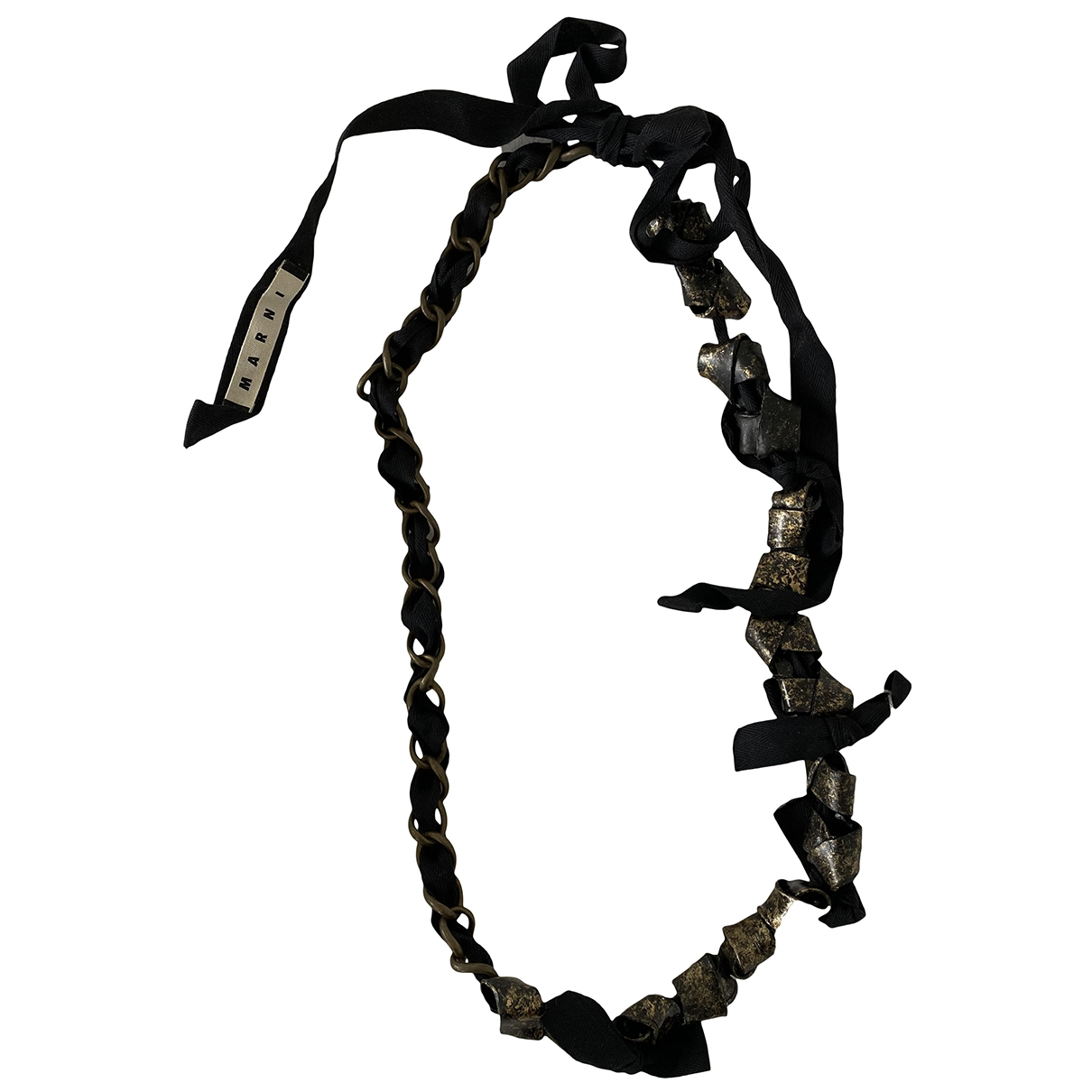 Marni \N Metallic Metal necklace for Women \N