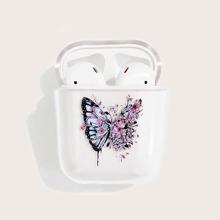 AirPods Schutzhuelle mit Schmetterling Muster