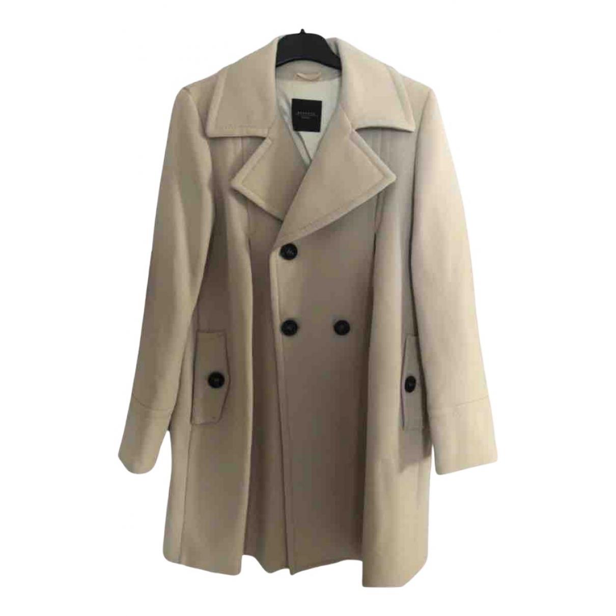 Max Mara Weekend N Grey Wool coat for Women 42 IT