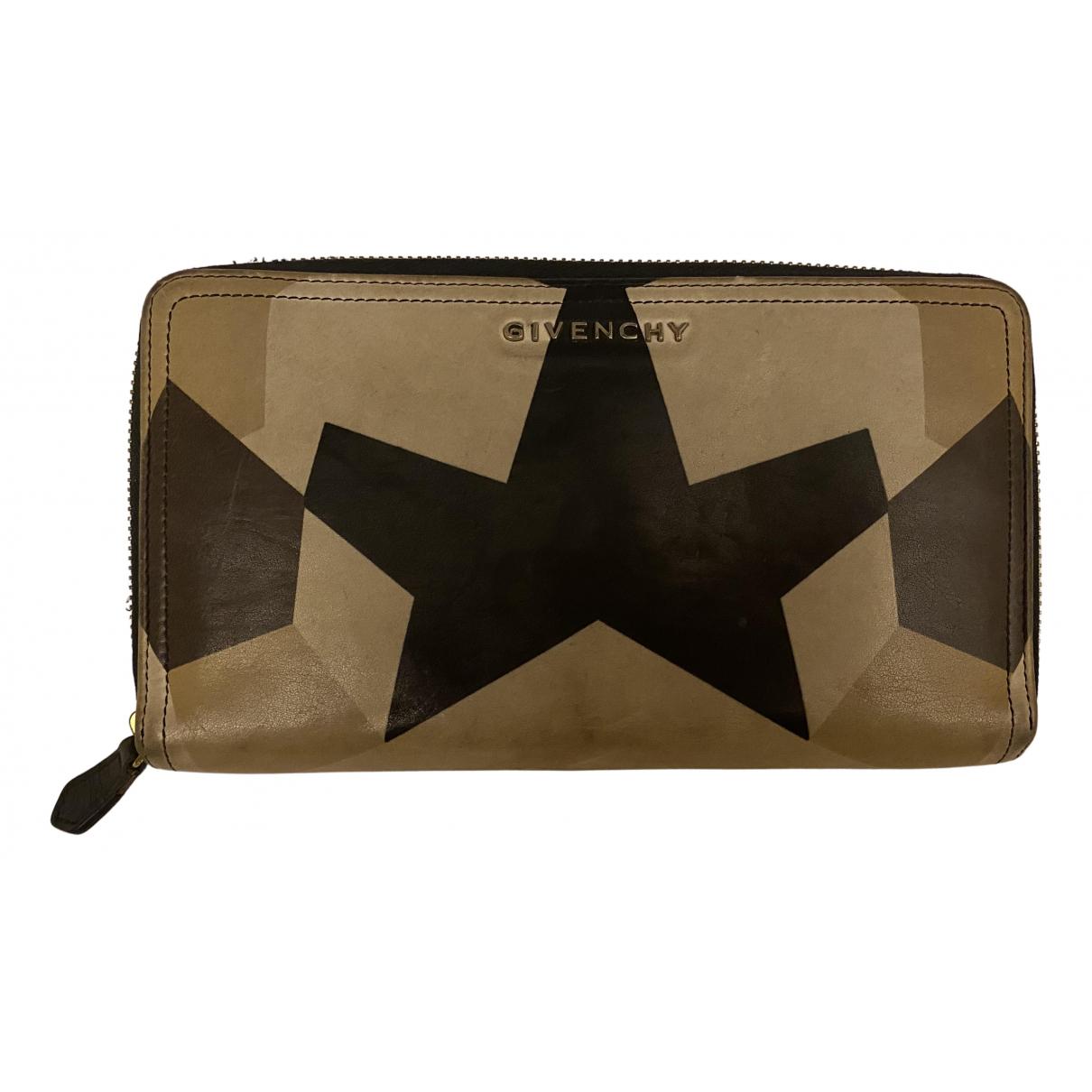 Givenchy - Portefeuille   pour femme en cuir - beige