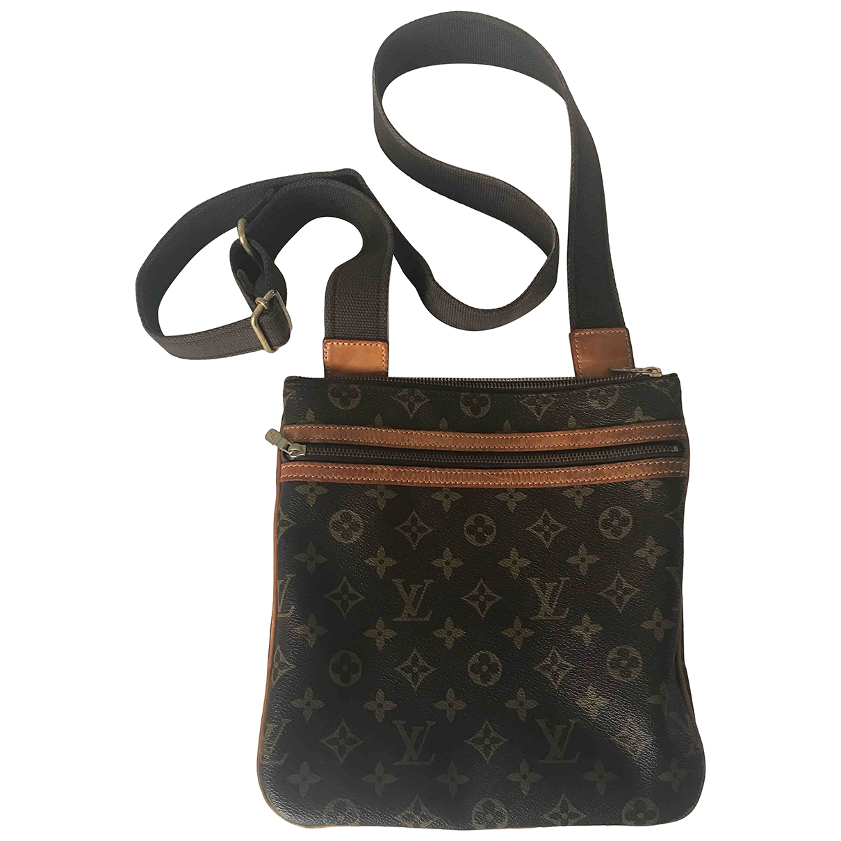 Louis Vuitton Bosphore Brown Cloth bag for Men \N