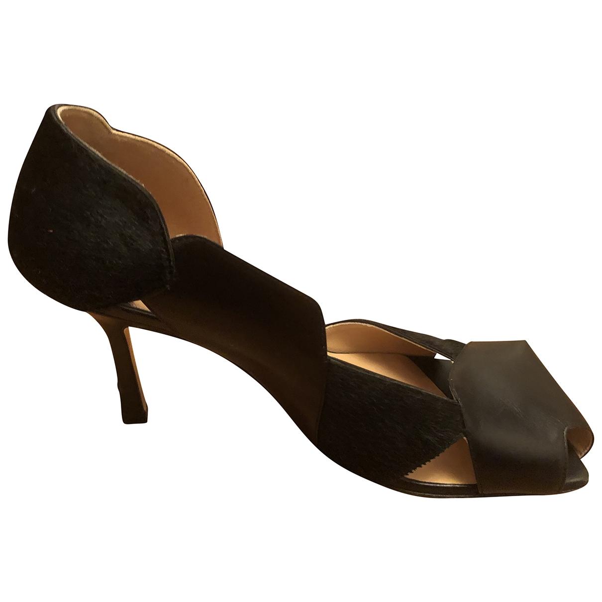 Bottega Veneta - Escarpins Stretch pour femme en cuir - noir