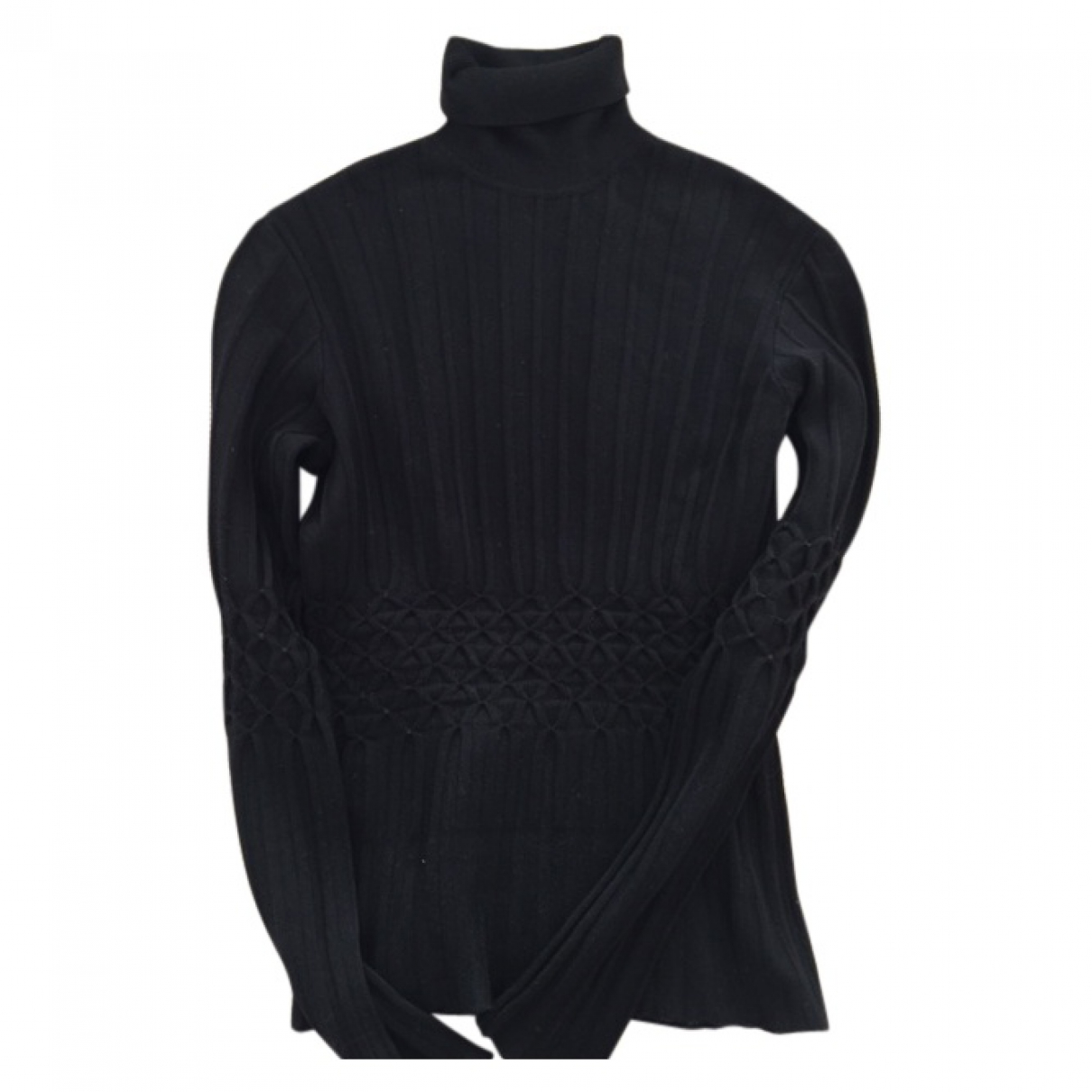 Gianni Versace \N Pullover in  Schwarz Synthetik