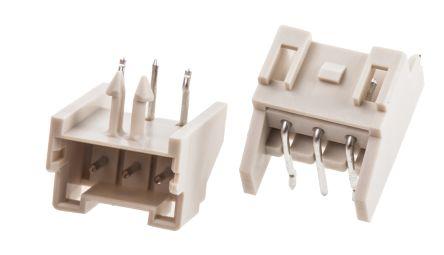 JST , XA, 3 Way, 1 Row, Right Angle PCB Header (10)