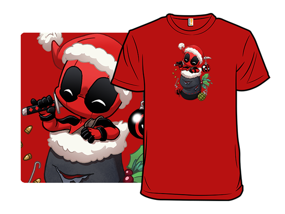 Red Merc Stocking Stuffer T Shirt