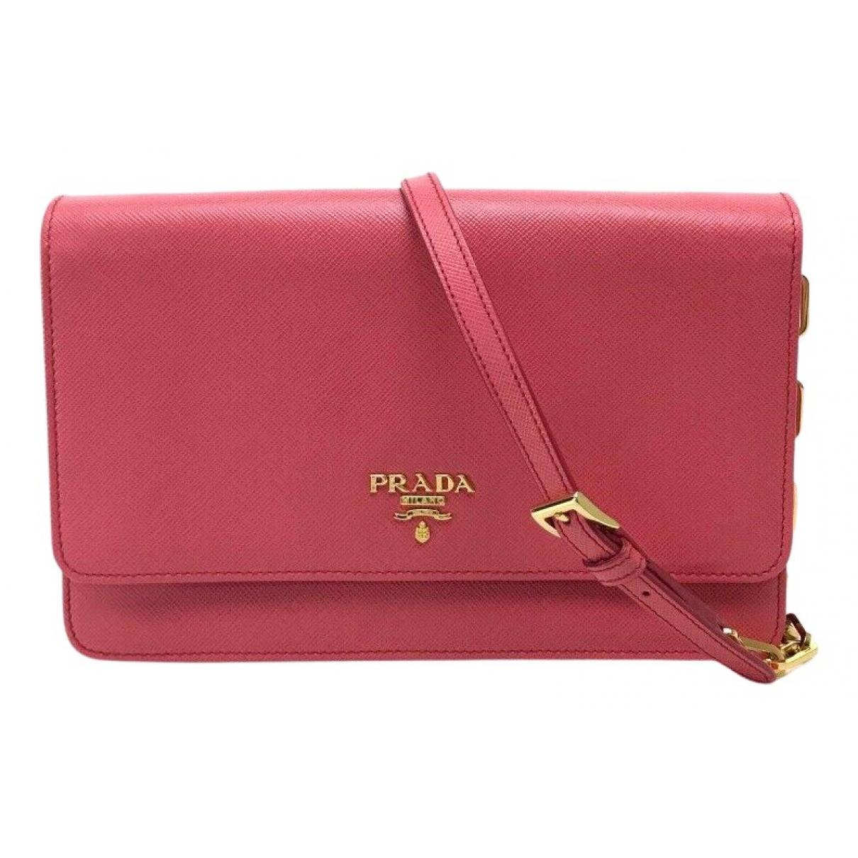 Prada N Leather handbag for Women N