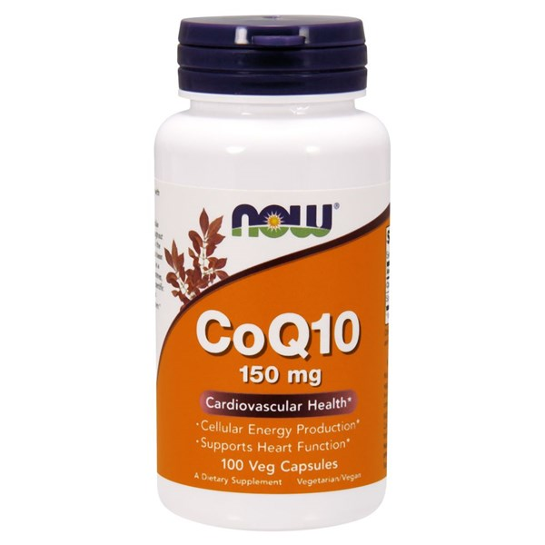CoQ10 100 Vcaps by Now Foods