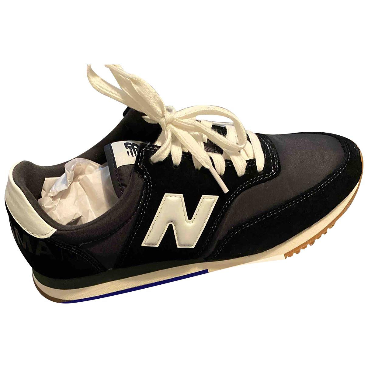 Junya Watanabe \N Sneakers in  Schwarz Leinen