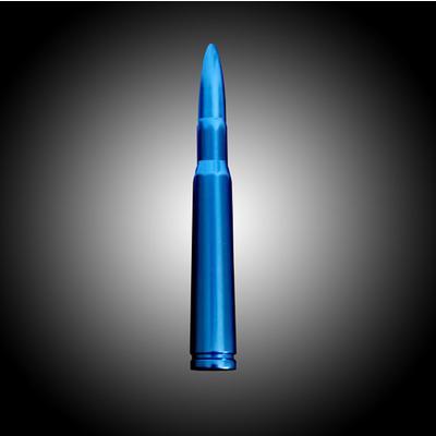 Recon .50 Cal Bullet Shaped Aluminum (Blue) - 264ANT50BL