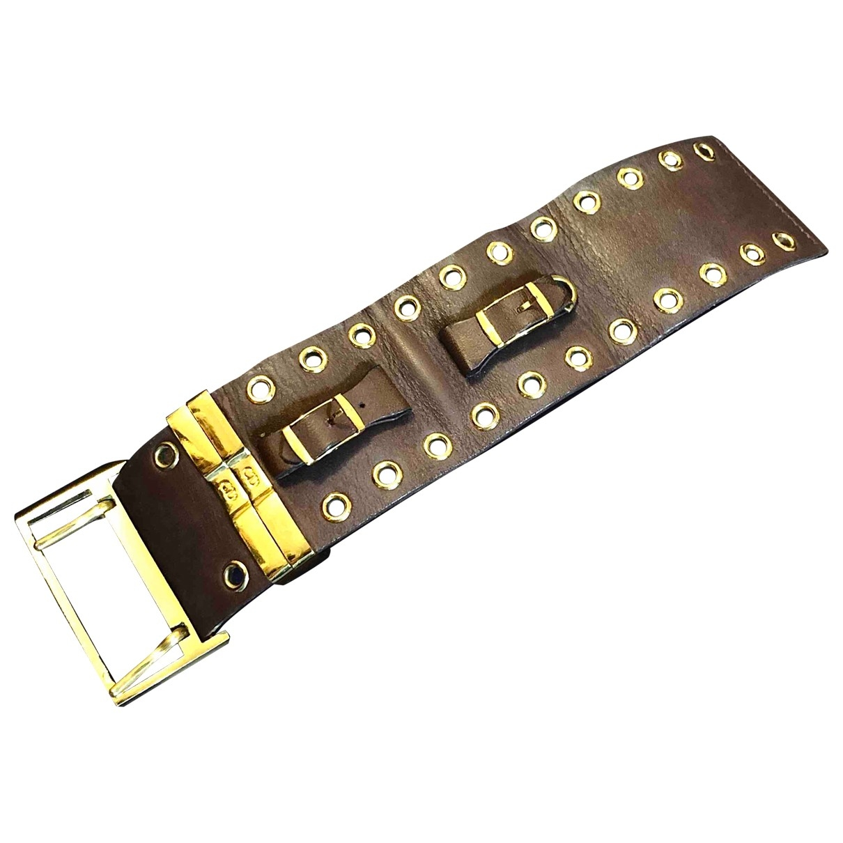 Christian Dior - Bracelet   pour femme en cuir - marron
