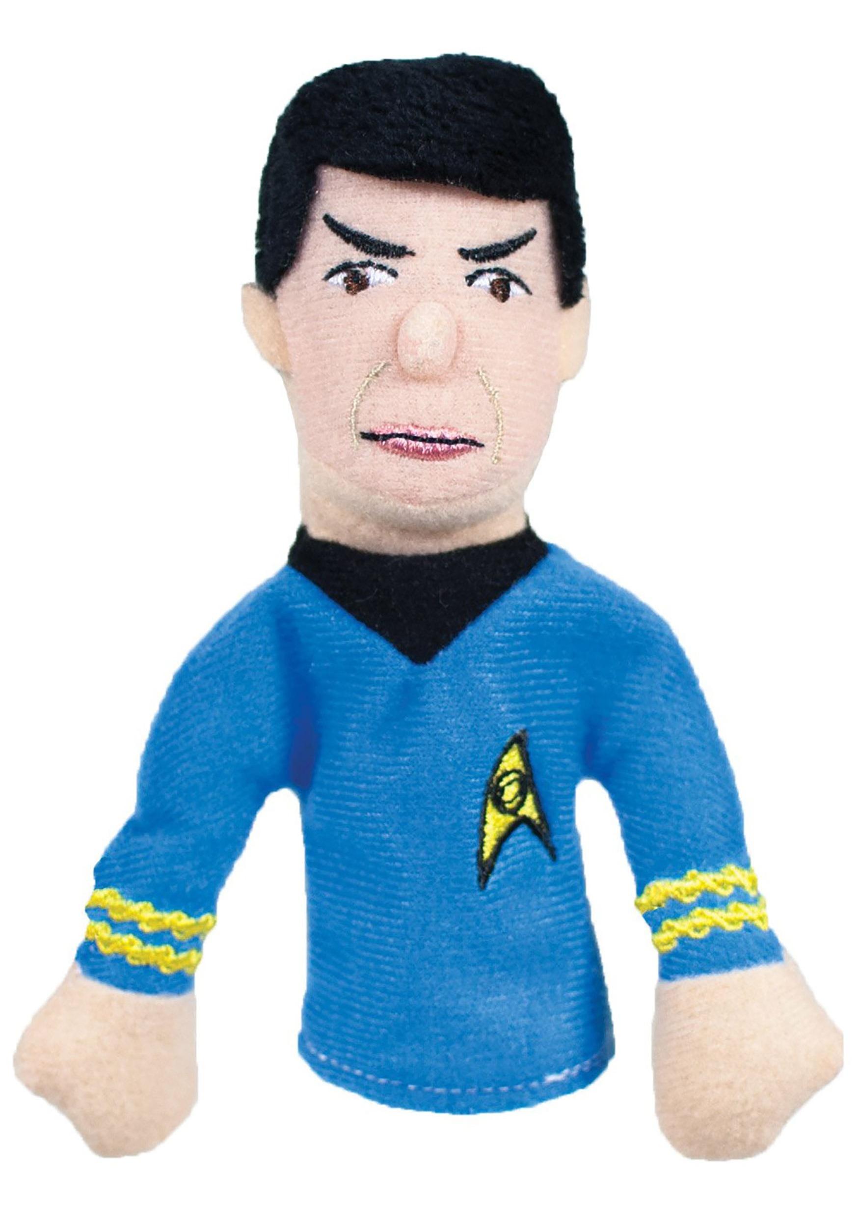 Spock Finger Puppet and Refrigerator Magnet