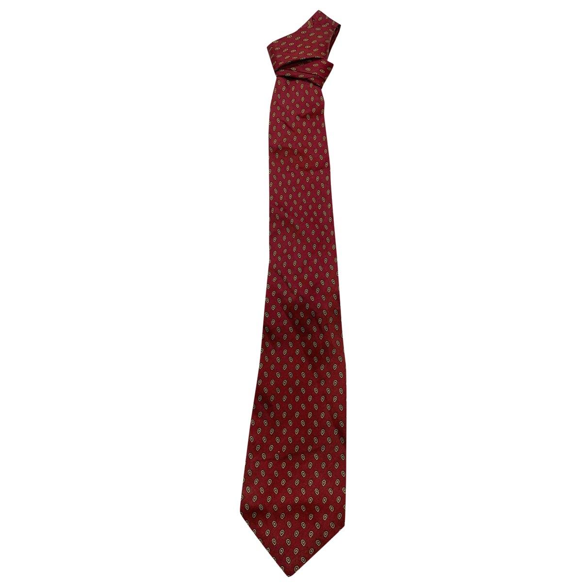 Paco Rabanne \N Krawatten in  Rot Seide